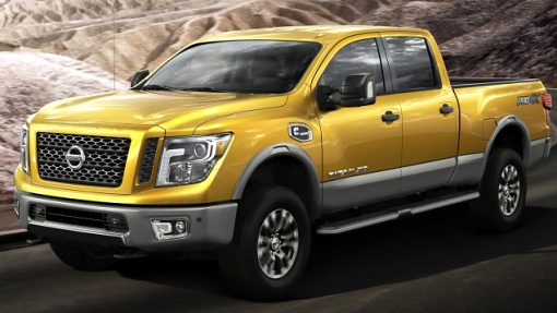 Пикап Ниссан Titan 2016 получит бензиновый двигатели