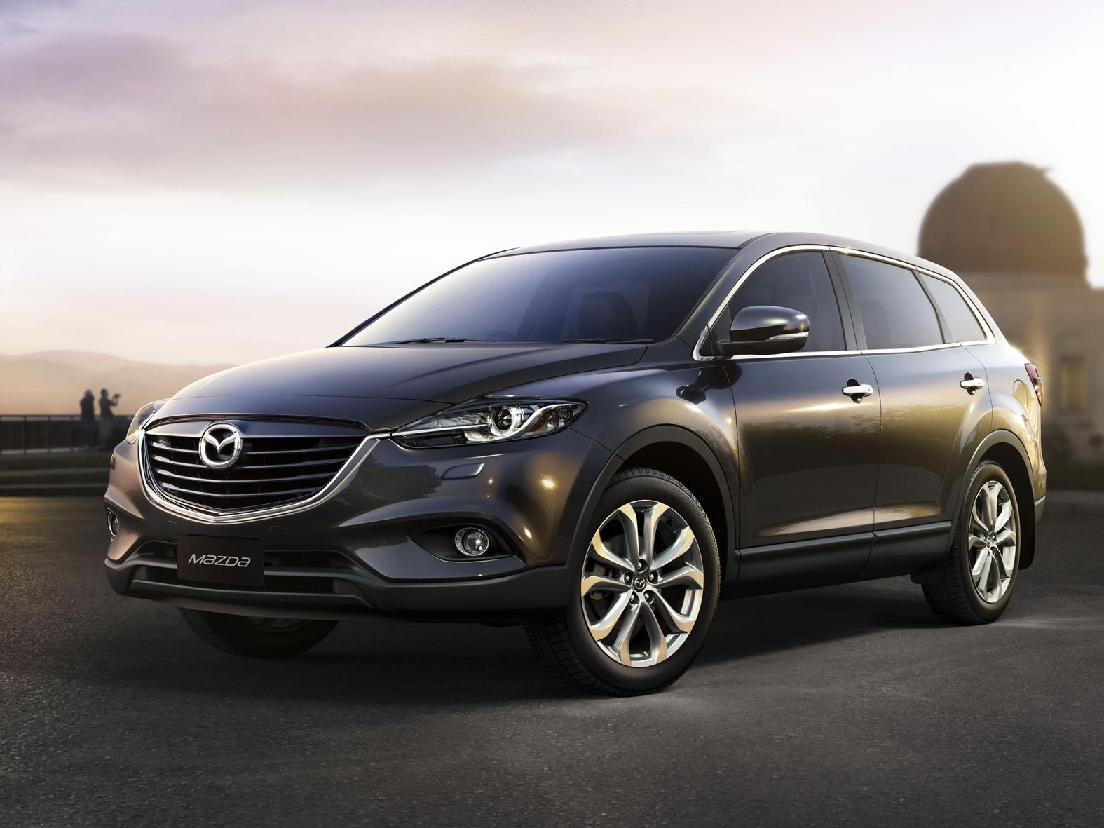 Mazda тестирует кроссовер CX-9