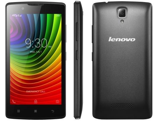 Lenovo представила самый доступный 4Gсмартфон