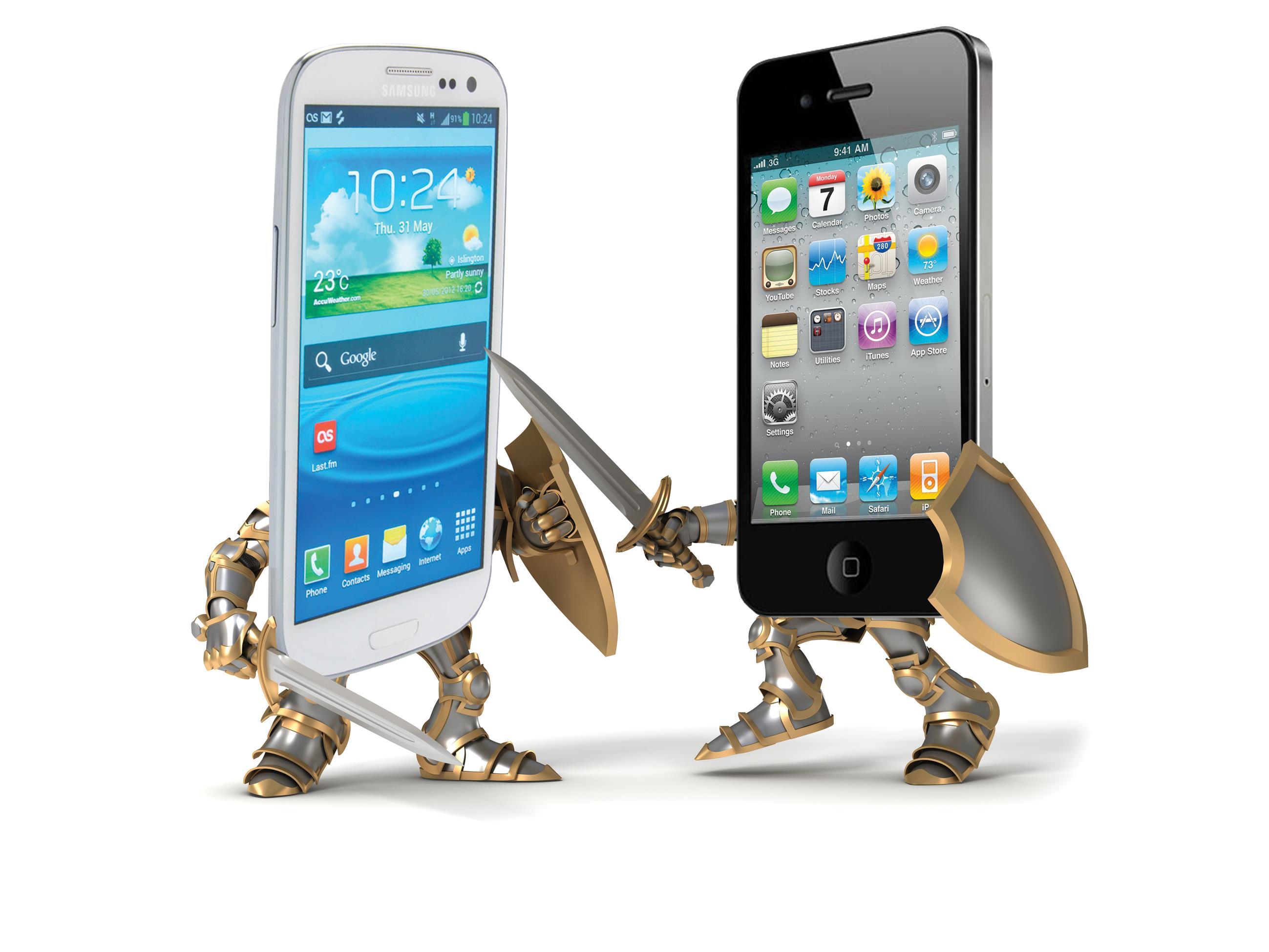IPhone оставляет смартфоны Samsung позади