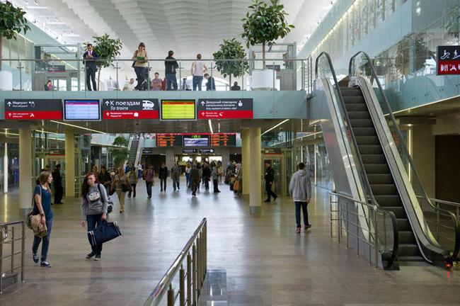 Московские ж  д станции оборудуют навигацией на английском языке
