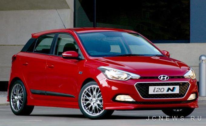 Hyundai представил спортивную версию i20