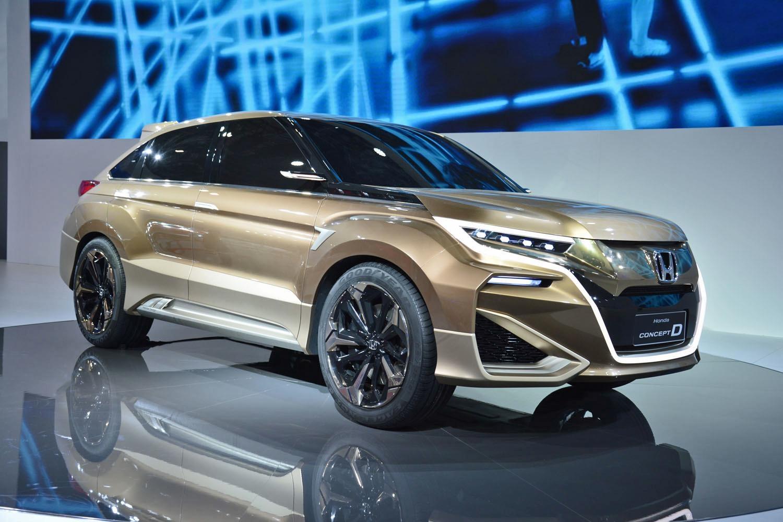 Серийная версия кроссовера Honda Concept D выехала на испытания